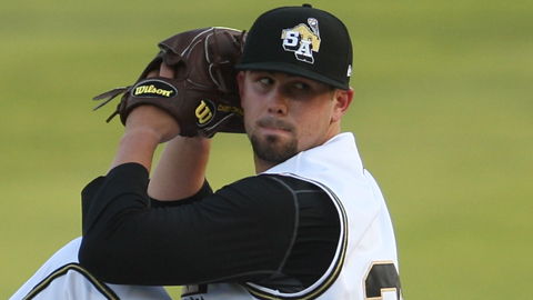 Casey Kelly has a 3.31 ERA in three starts for San Antonio.